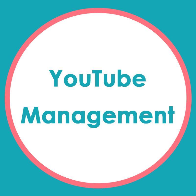YouTube Set-up & Management