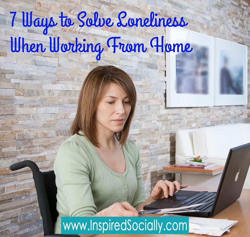 7 ways to solve the loneliness when you're working from home